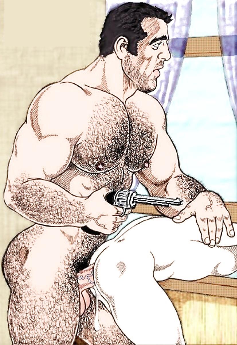 Порно Гей Комиксы В Душе