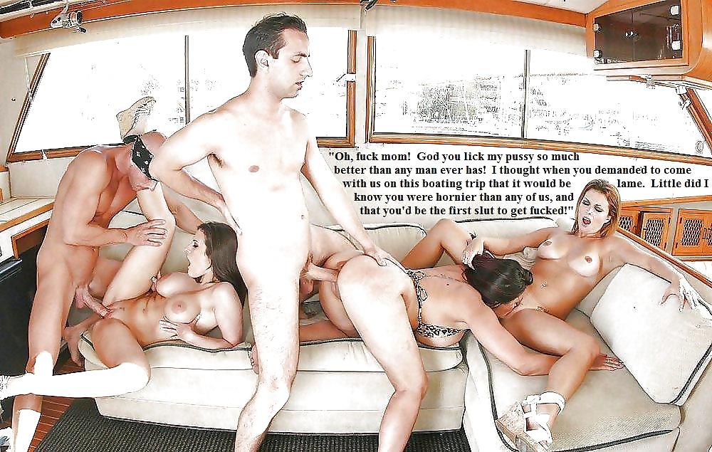Мужики обменялись женами и устроили групповуху на яхте