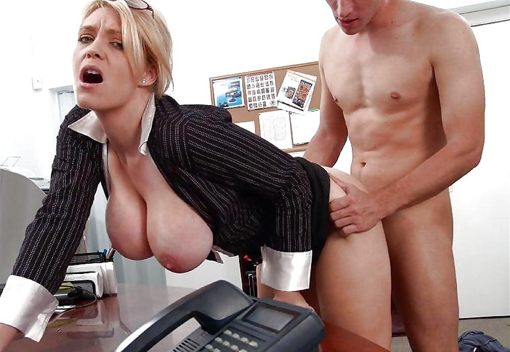 Секс На Работе Без