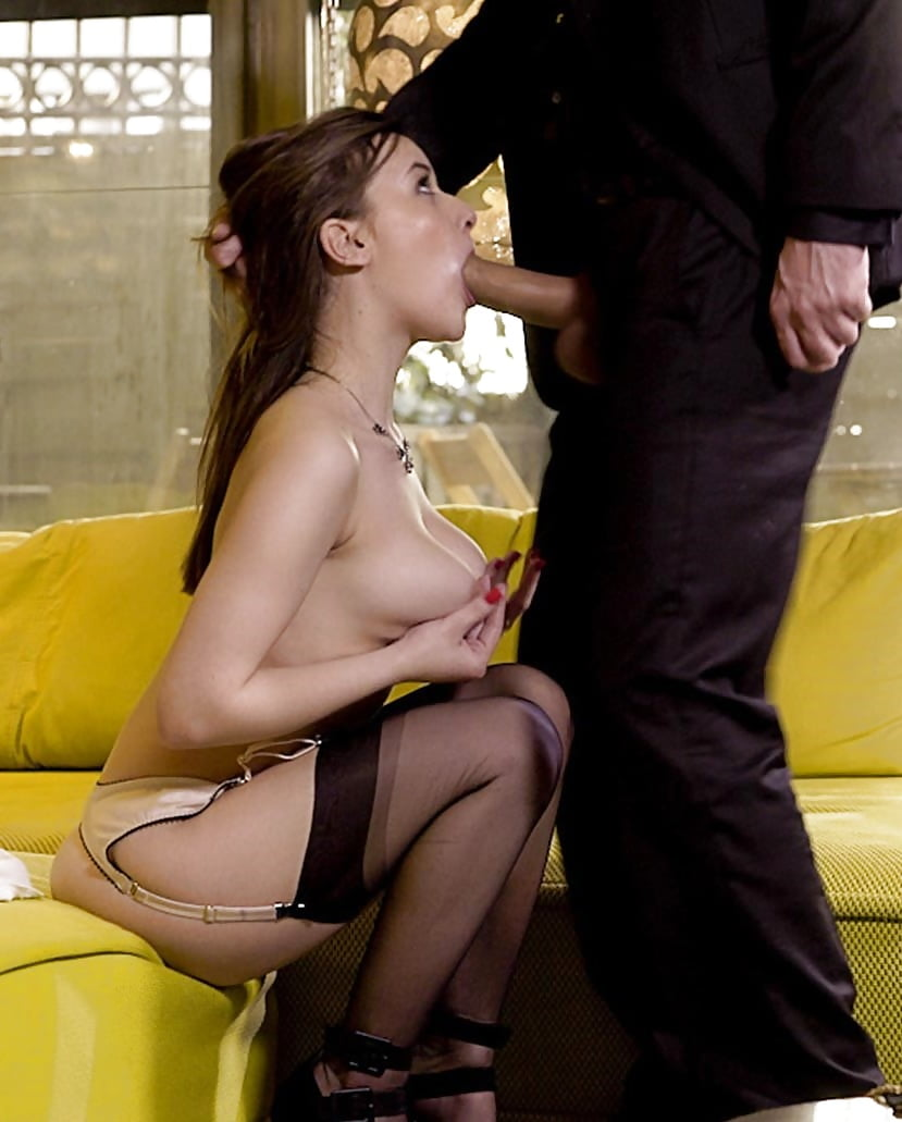 Face Fuck In Stockings