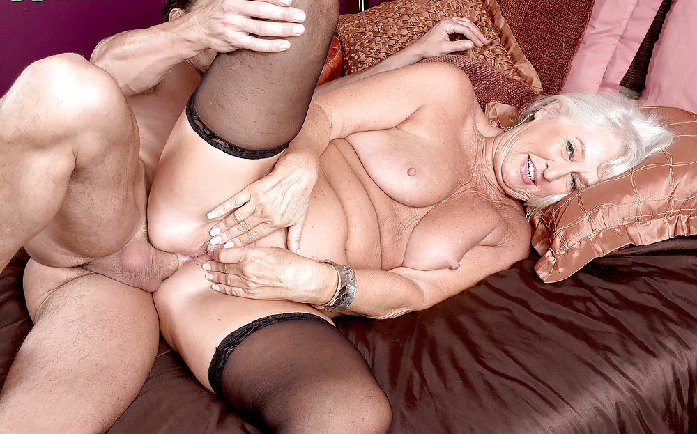 Older women first time anal