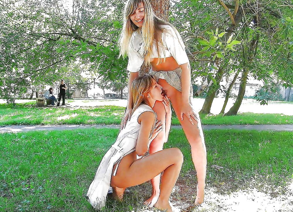 Молодые девушки лесбиянки в шортиках на улице видео, кино секс мамочка
