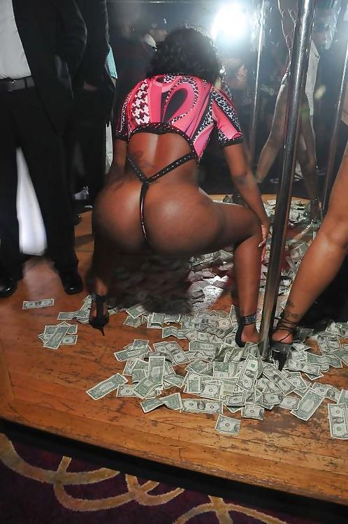 black-stripper-money