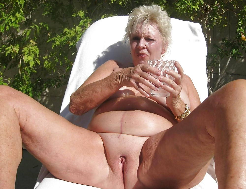 Elderly old old women nude sexy amateur #4