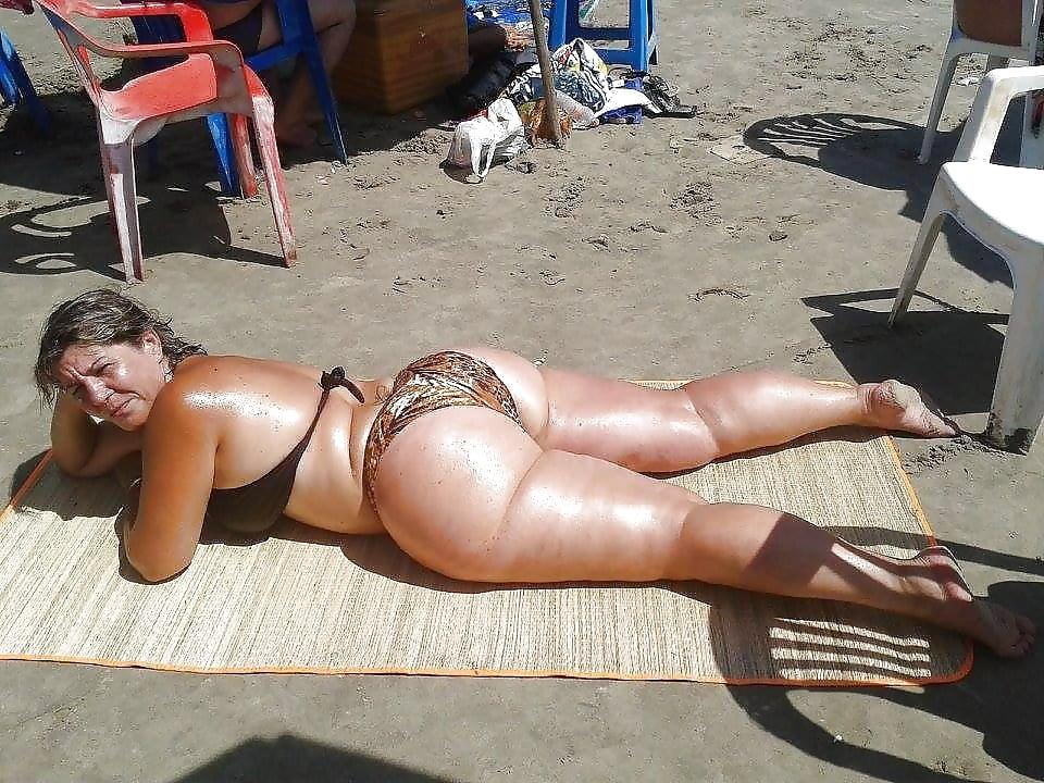 Фото голых толстушек раком