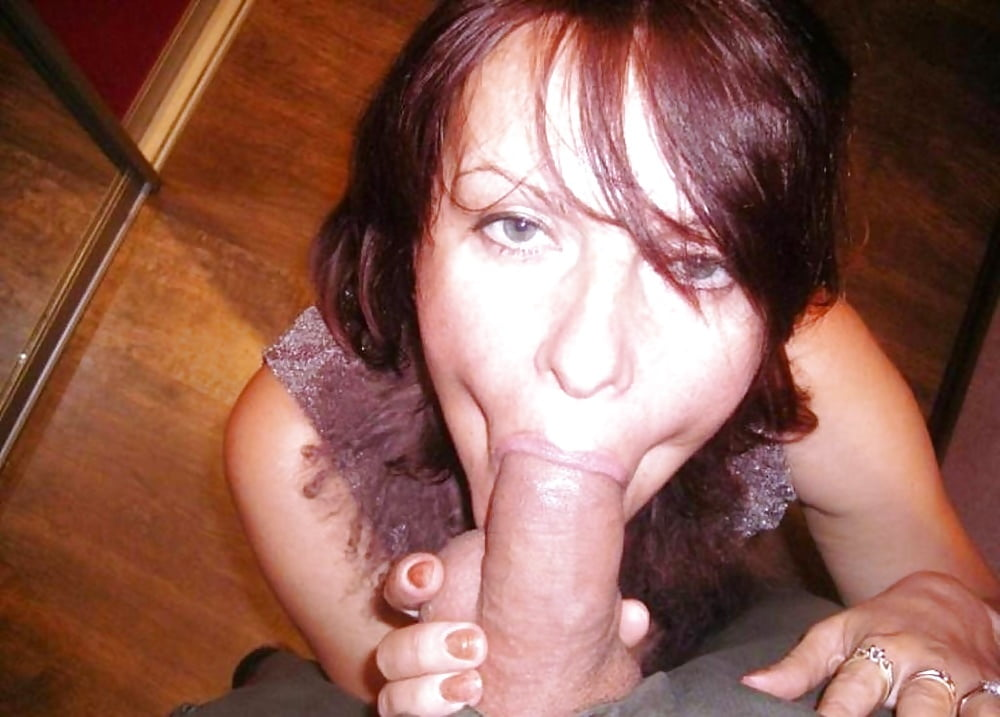 Milf stripping with shiny tan stockings