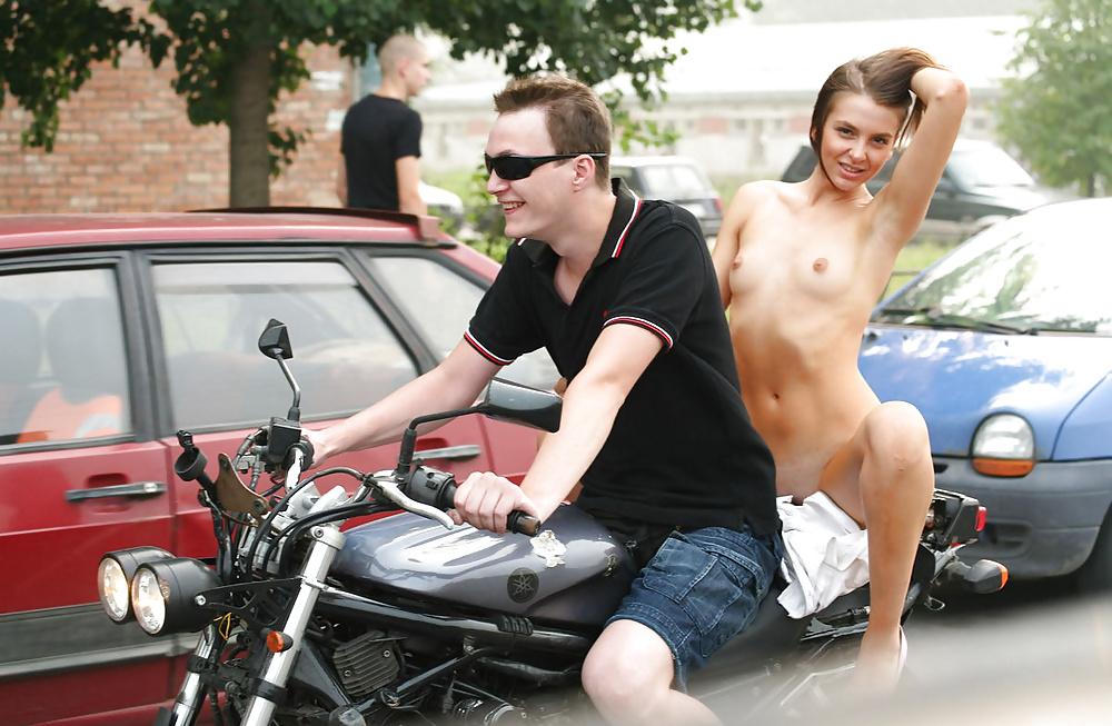 Bike with girl-2296