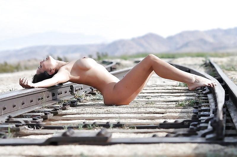 Manet, the railway