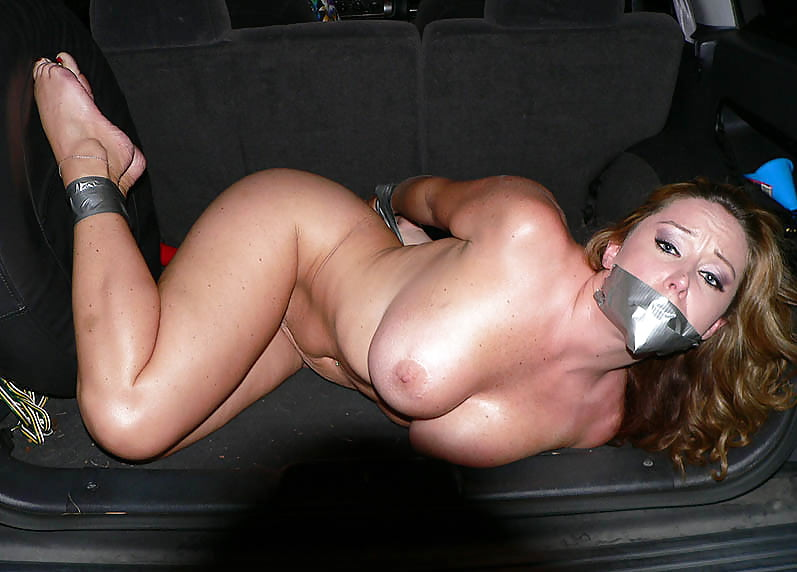 Teen tied and gagged