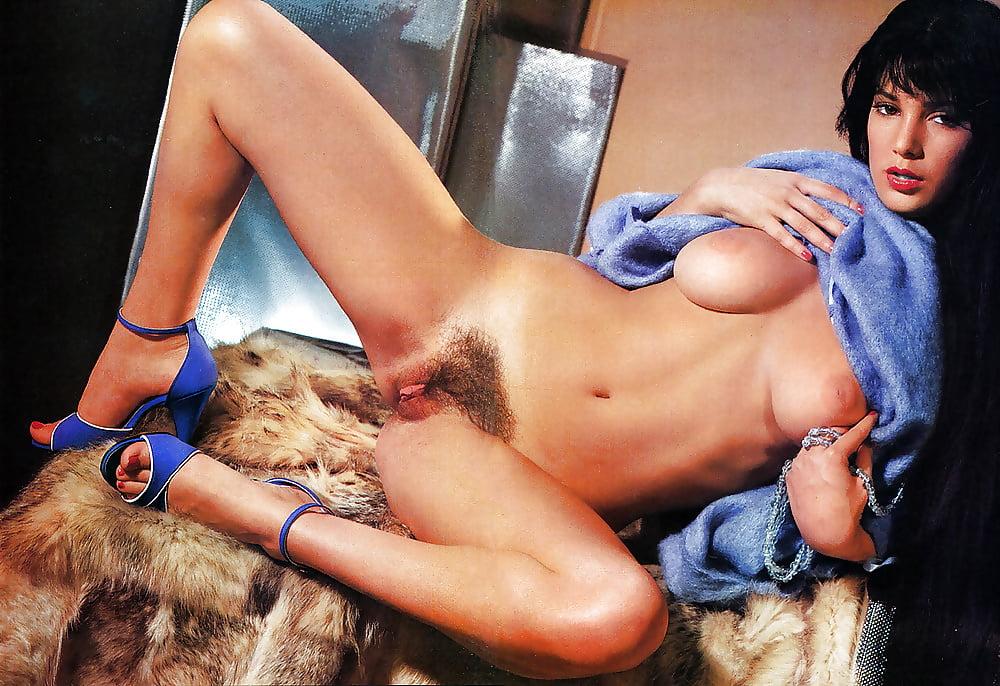 Erotica nude centerfold