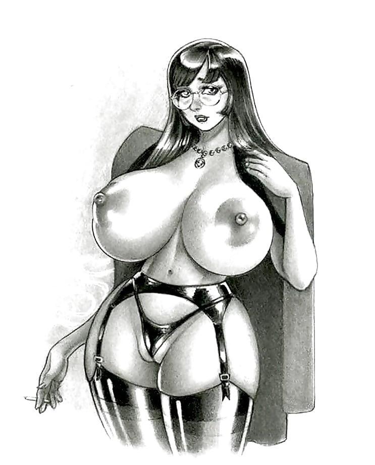 Big Tits Lusty Cartoon Babes Using Sex