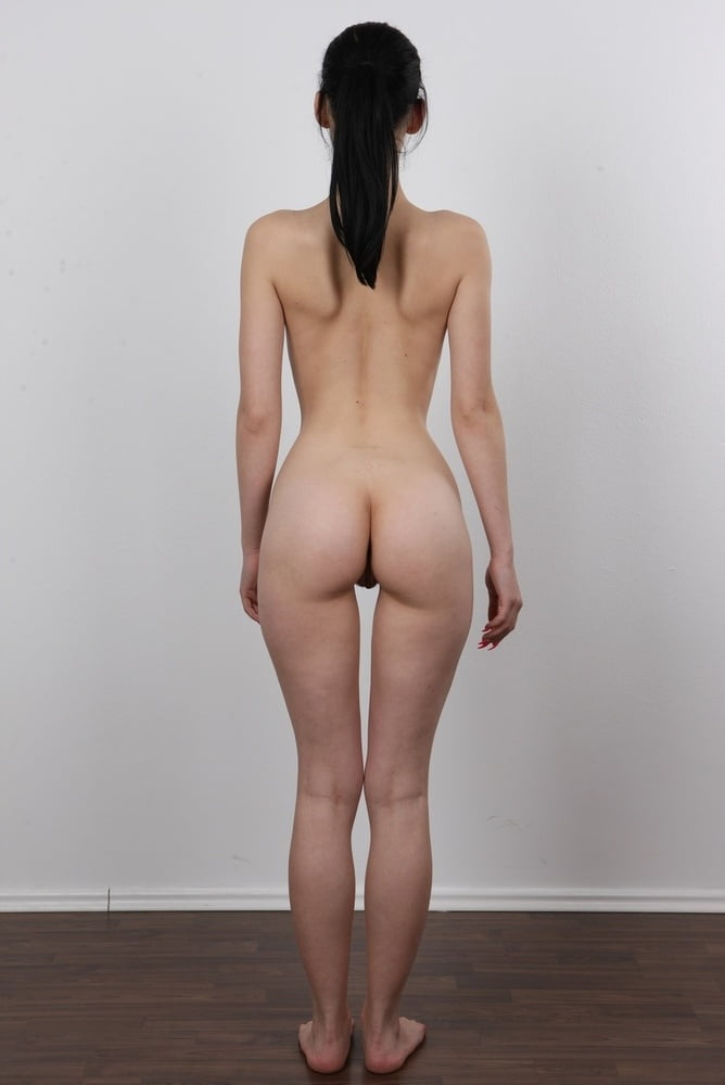 Skinny womans nude ass