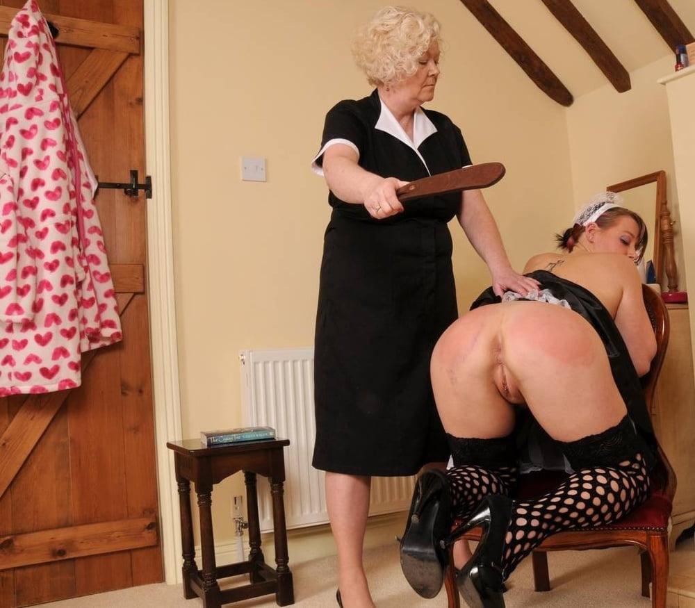 Grandma is a strict mistress