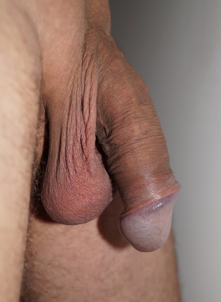 Shaved cock and balls ass