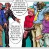 Cartoon captions, German