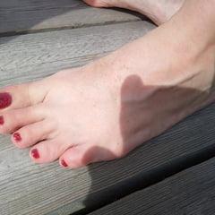 Lady L Sexy Foot.