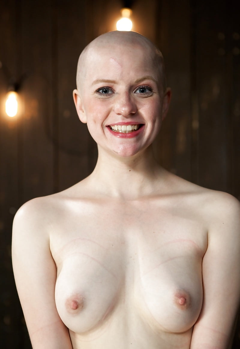 Shaved head is sexy