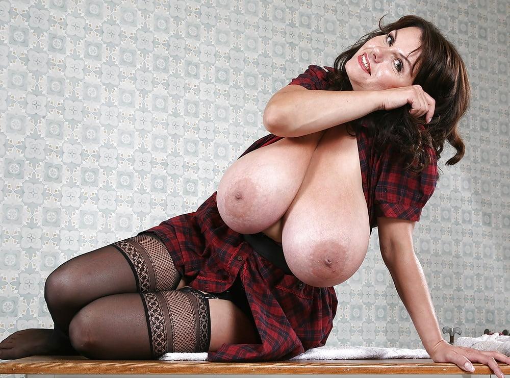 Milena velba has the biggest tits