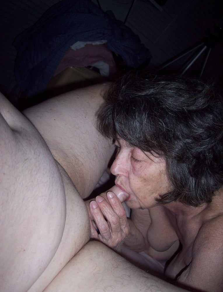 That ass old grannies sucking young cock
