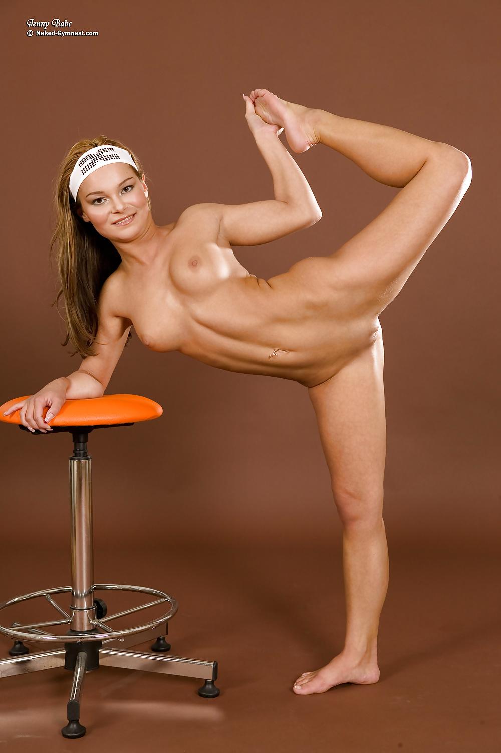 Flexible naked kung fu girl — 2