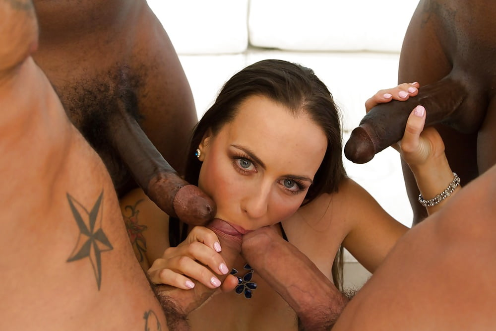 Watch double anal gangbang andcum swallows for nomi melone free