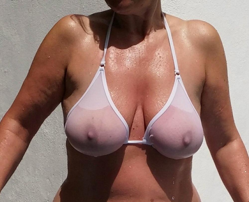 Bikini Sheer - 11 Pics