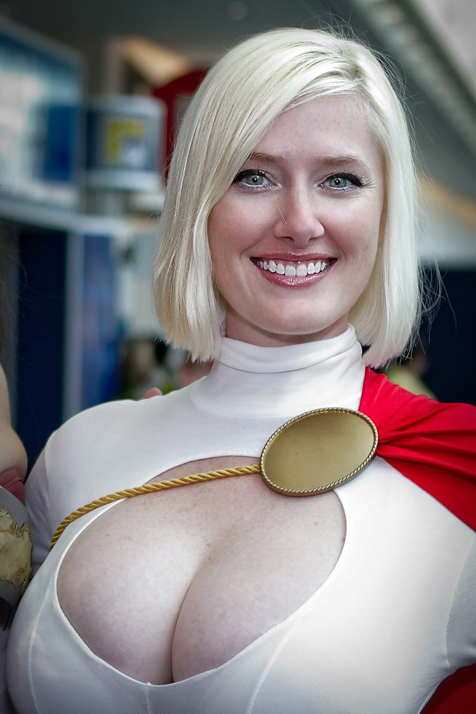 Power girl being big tit slut that she is