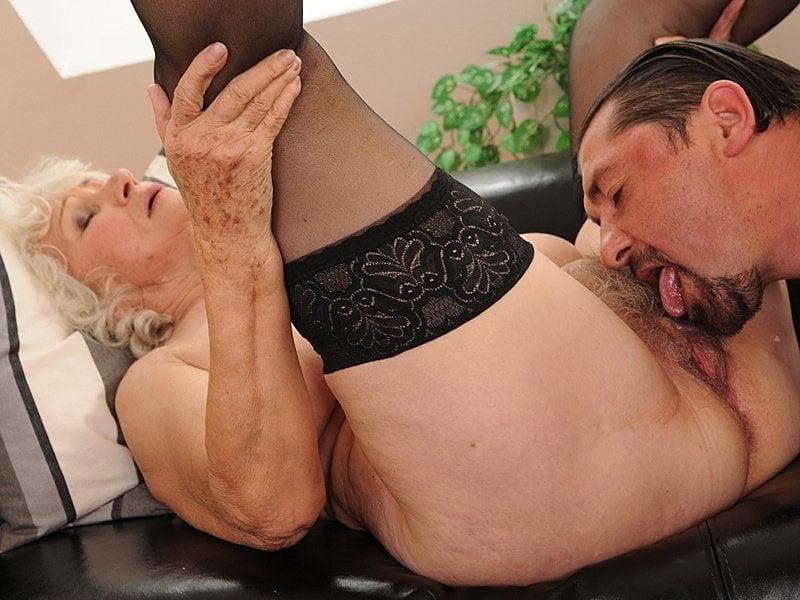 Granny ass licking galleries