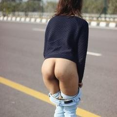 nude public ass