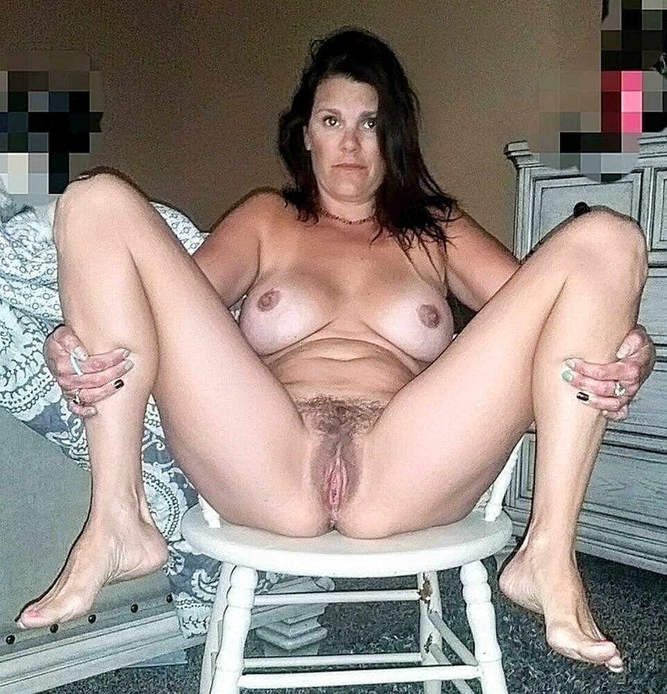 Nice Tits Hairy Mature Wife