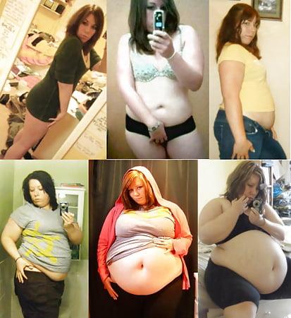 Fat girl weight gain story
