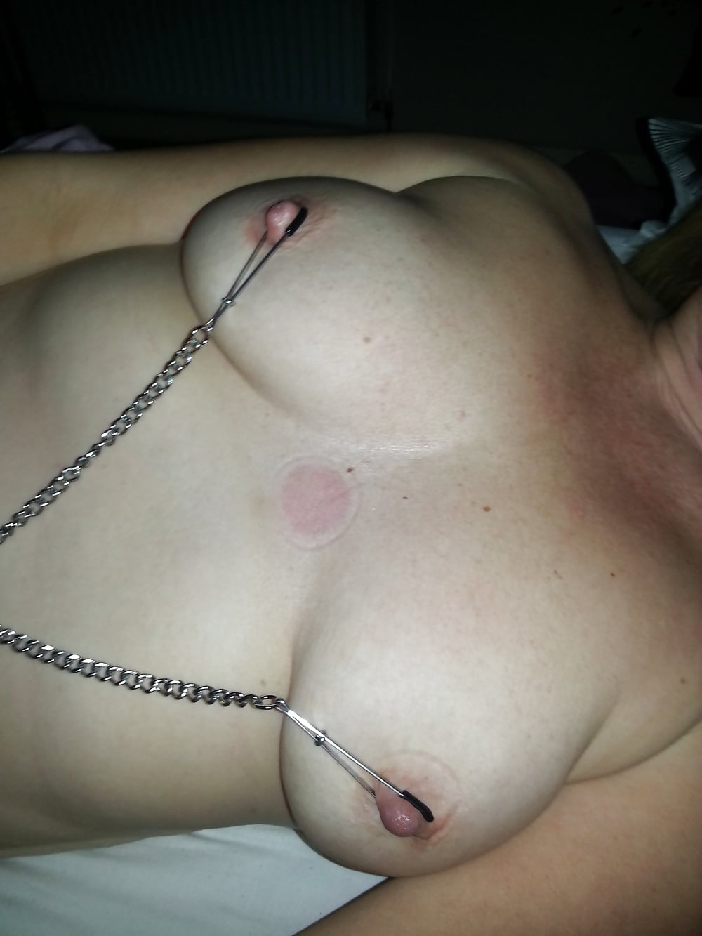 Tit on clit