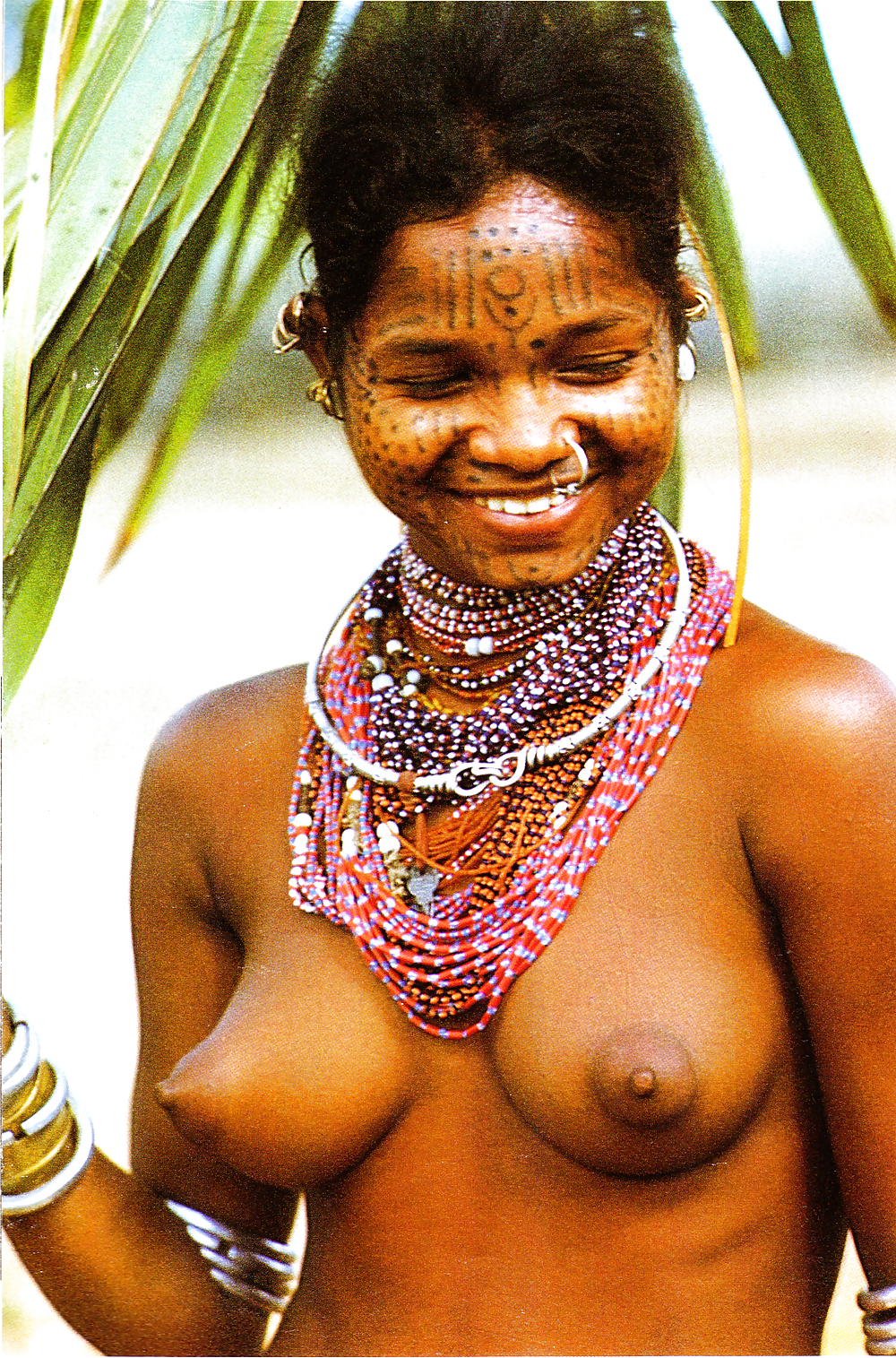 Porn tribal African native
