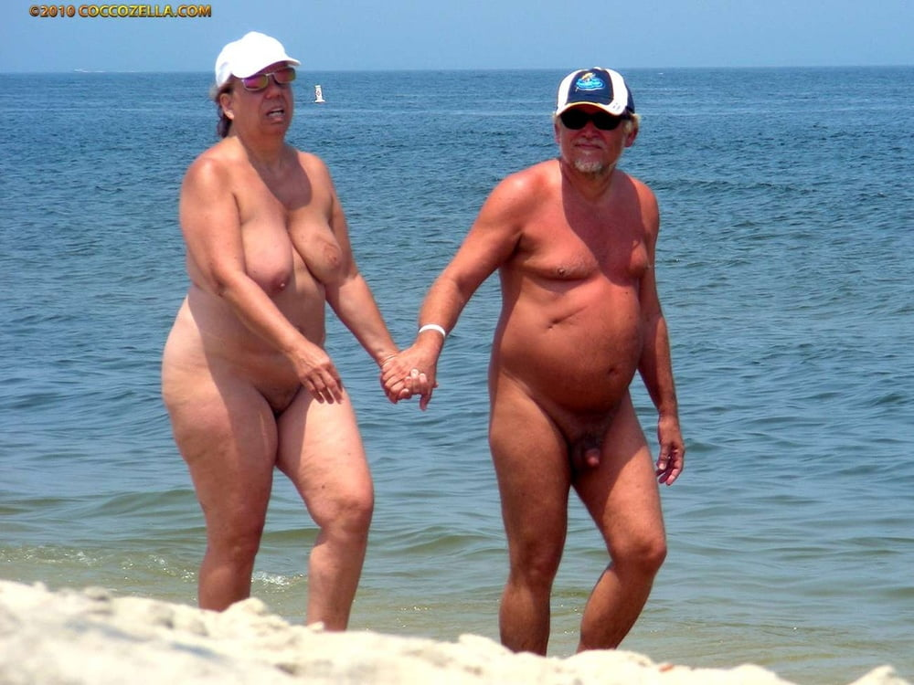 Nudist family beach fun