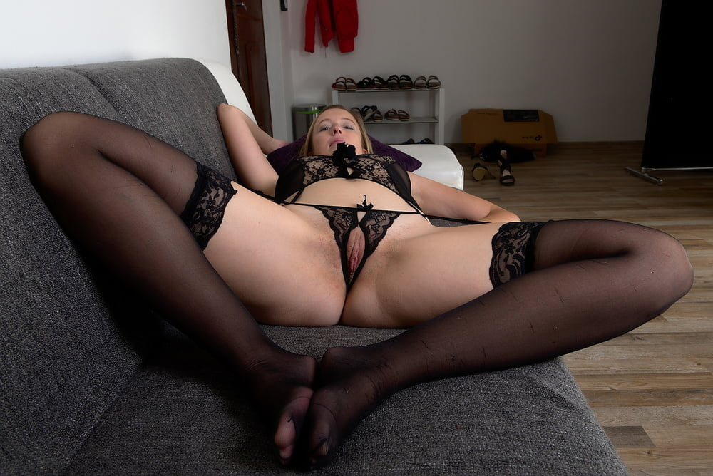 On the sofa - 19 Pics