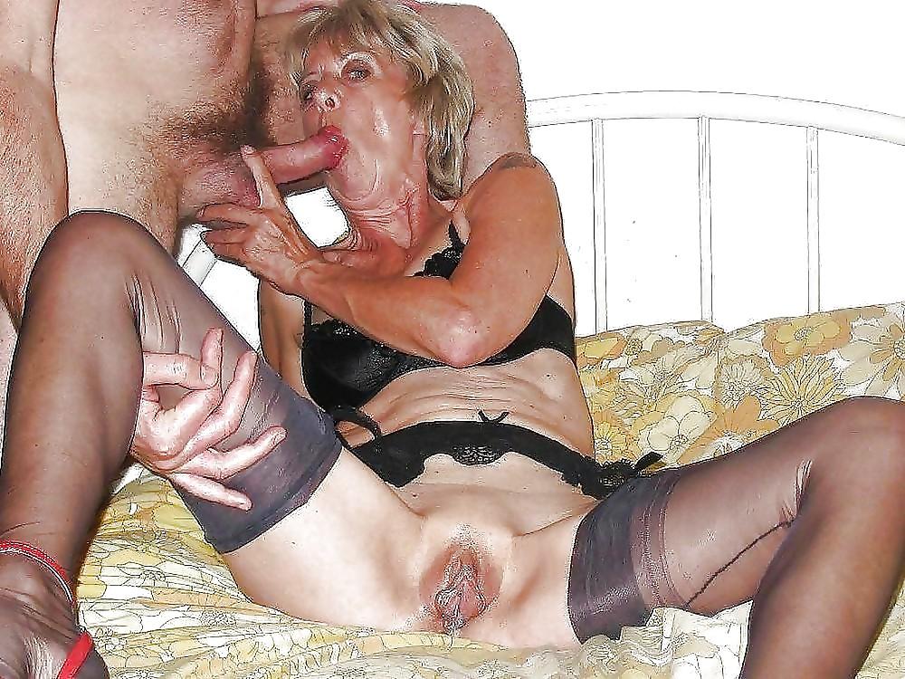Hot older women having sex-7592