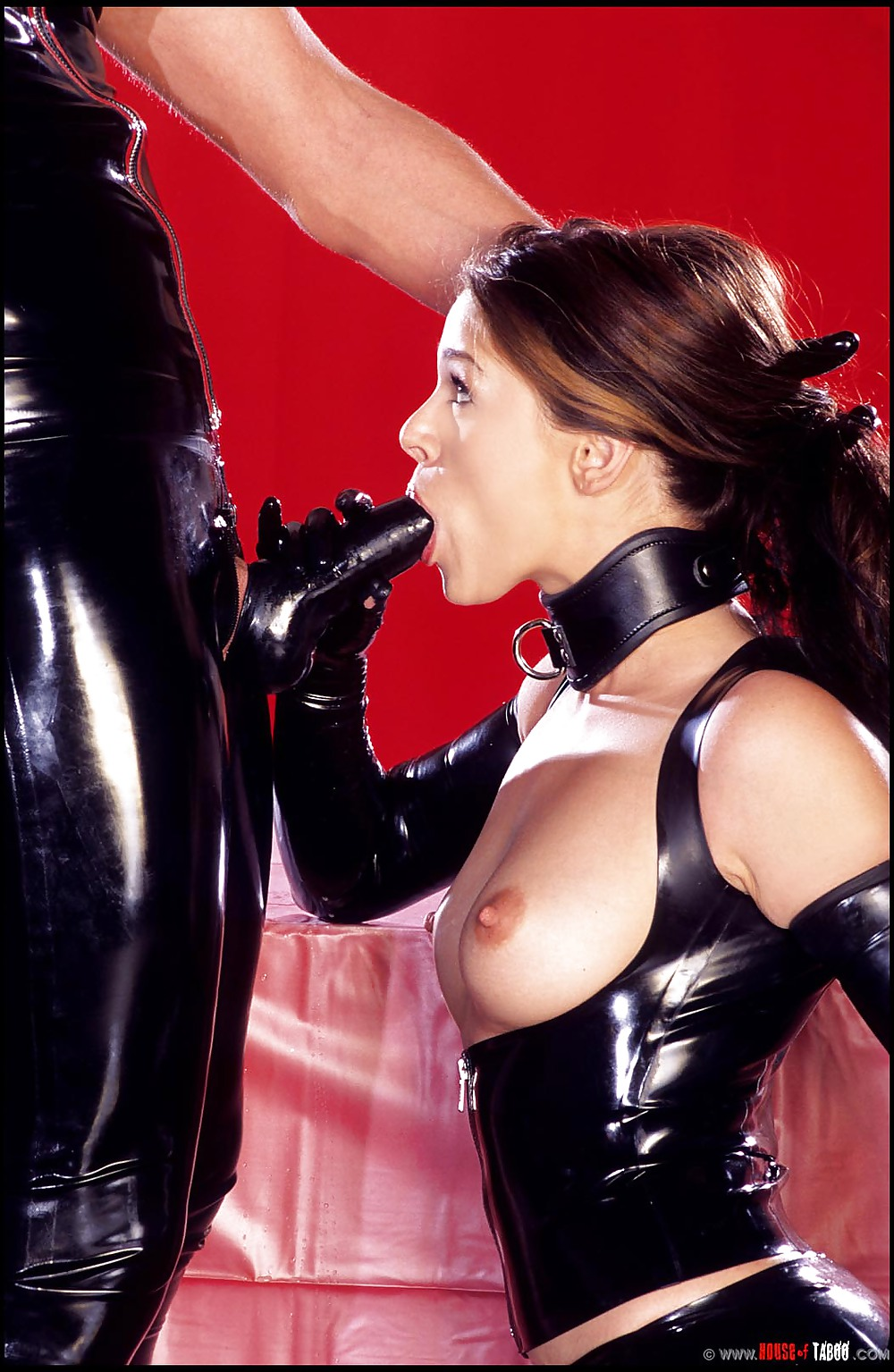 Lovers in latex natalia forest, tegan jane sex and domination between lesbians