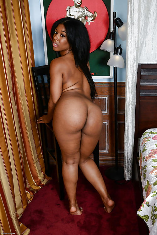 Girl thick black girl with booty nude