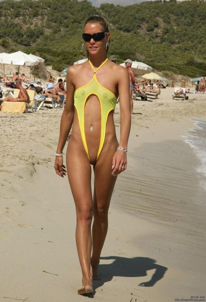 Microkini beach nude