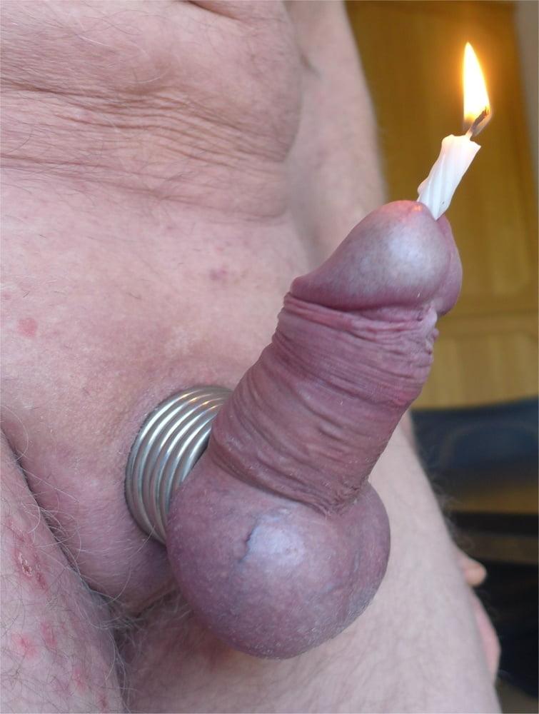 Firecracker in cock