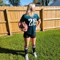 ScarlettRaven American Football Philadelphia Eagles Hotwife