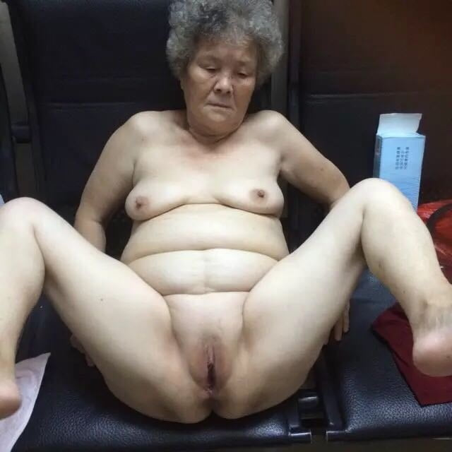 Chinese granny anal sex