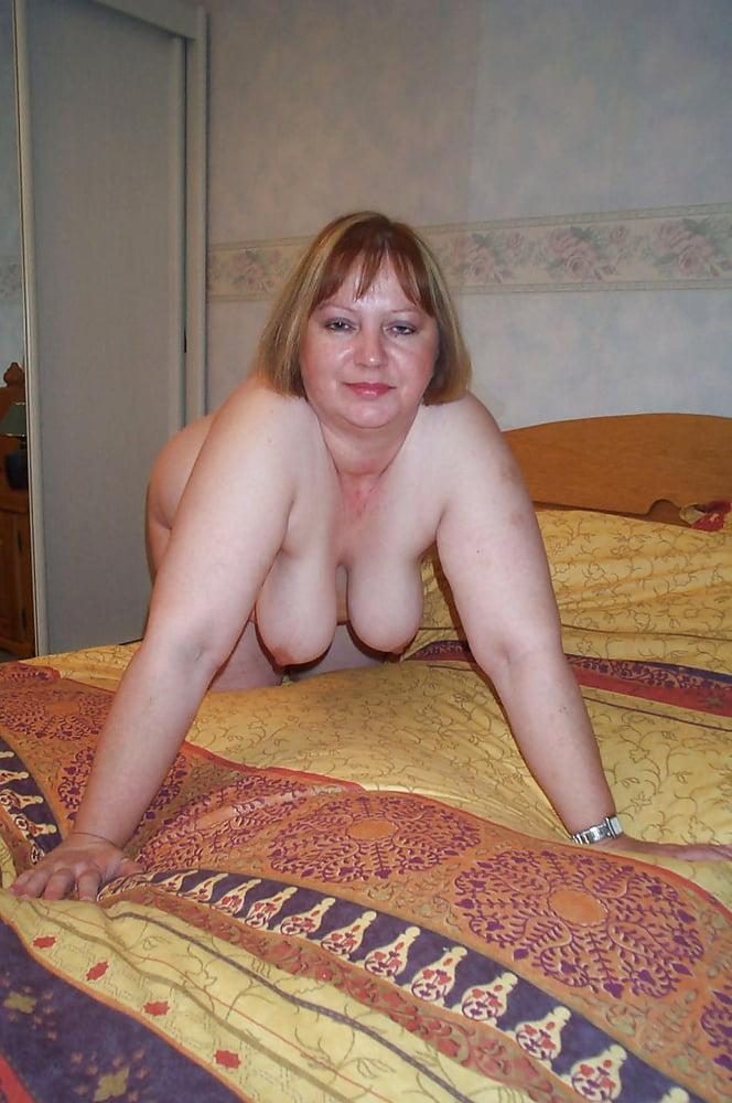 Blonde hairy mature milf
