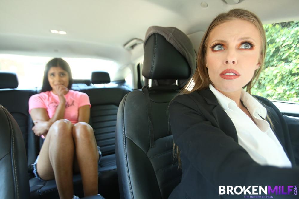Stepmom Britney Amber Discipline Her Naughty Stepdaughter - 72 Pics