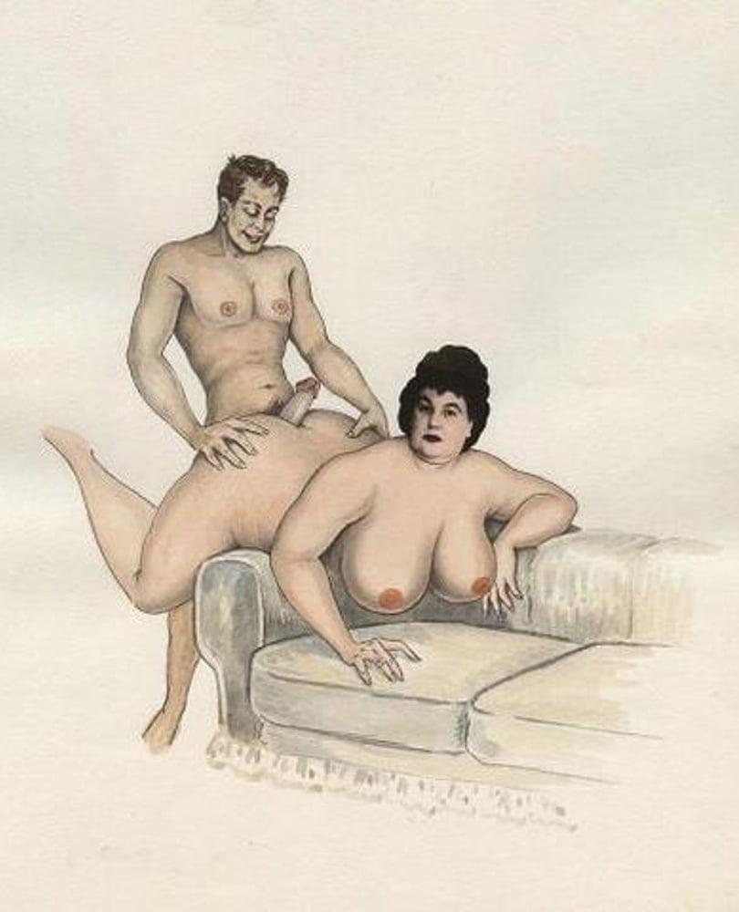 Рисунки траха толстых немецких
