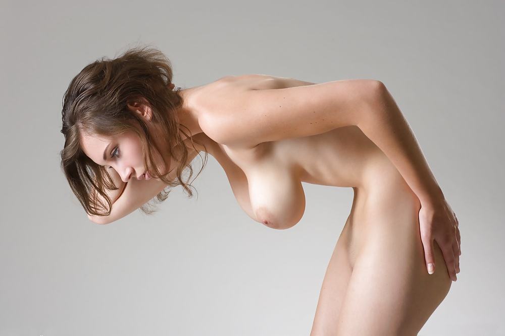 Sexy Chicks With Natural Breasts Use Tongues To Reach Orgasms