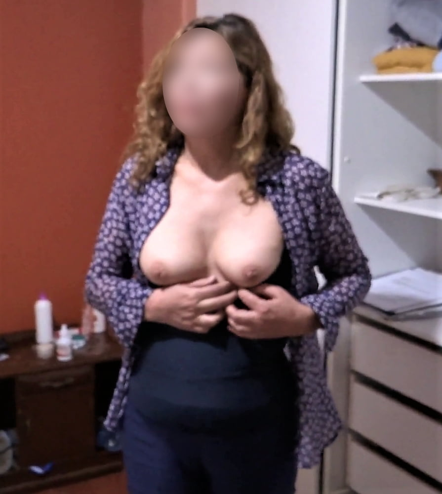 My hairy wife, watch her videos too - 62 Pics