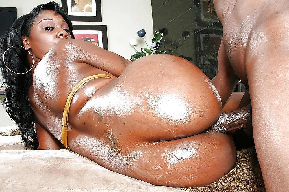 Big black ass ebony anal