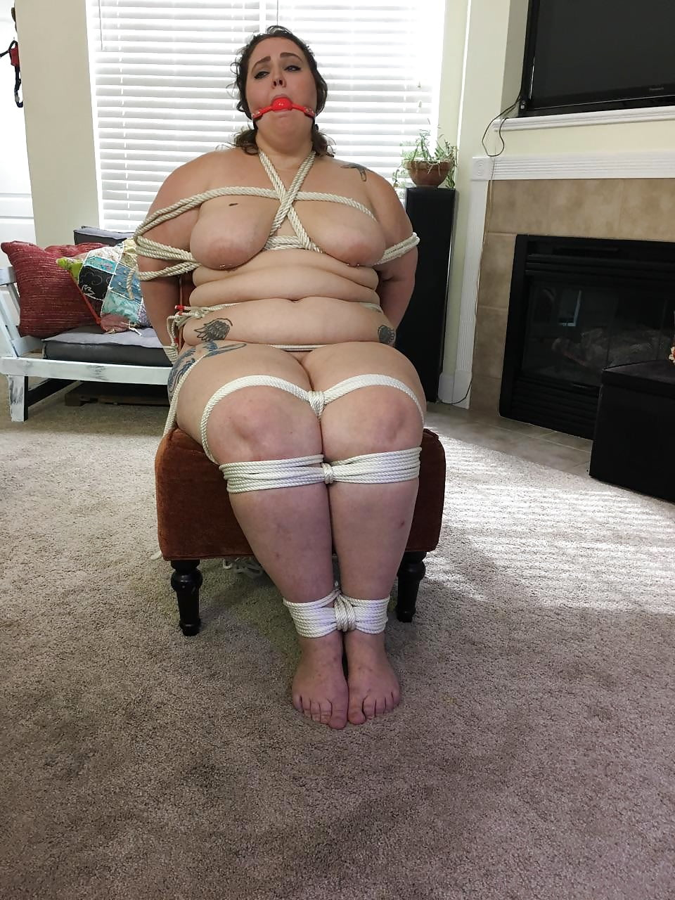 Plus size girls in bondage videos, hot pussy of wild auntys