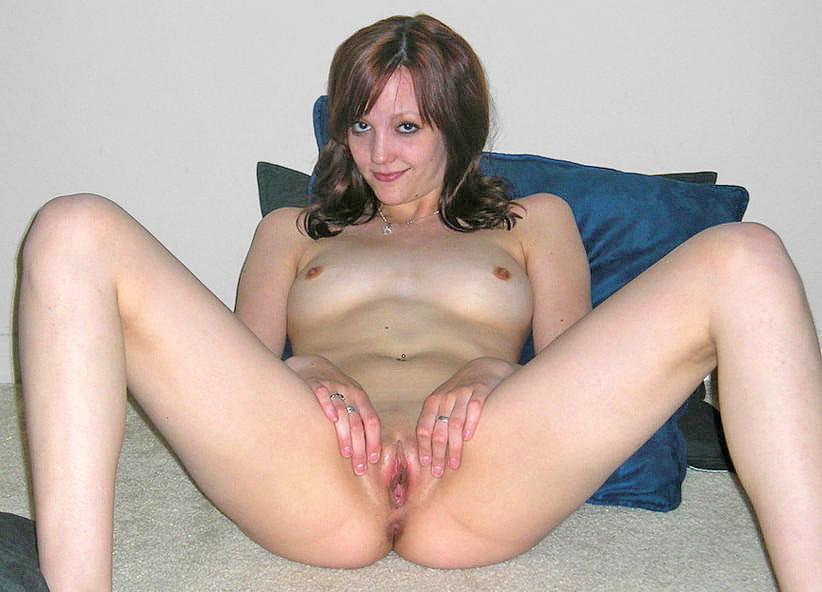 Cute slut spread #1